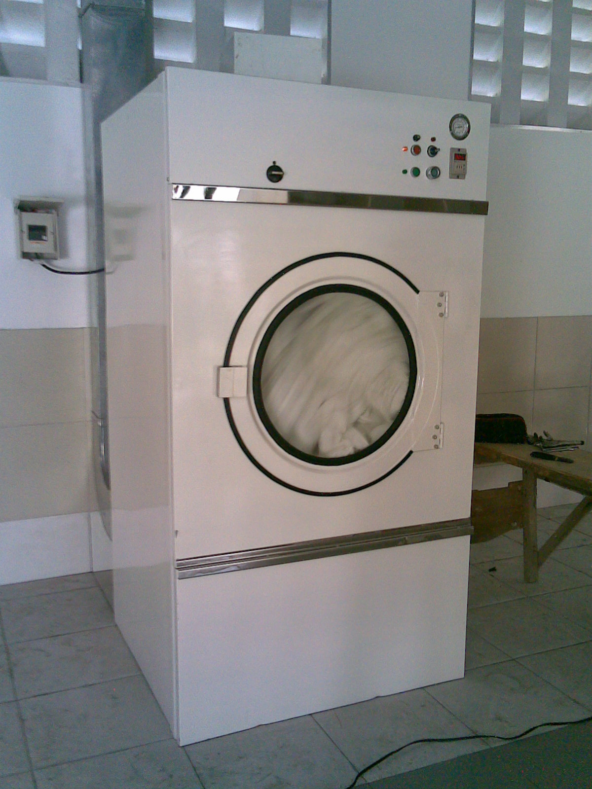 Dryer On A Tumbler ~ Fld tumbler dryer laundry machinery equipment business